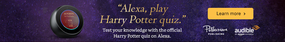 Announcing the new Harry Potter quiz. 'Alexa, play Harry Potter quiz'. Learn more.