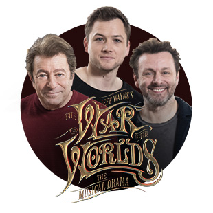 Taron Edgerton and a full cast perform Jeff Wayne's War of the World.