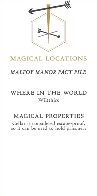 Malfoy Manor Fact File