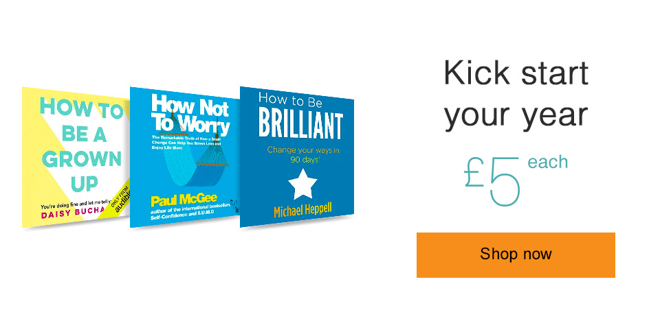 Kick start your year. Only £5 each.