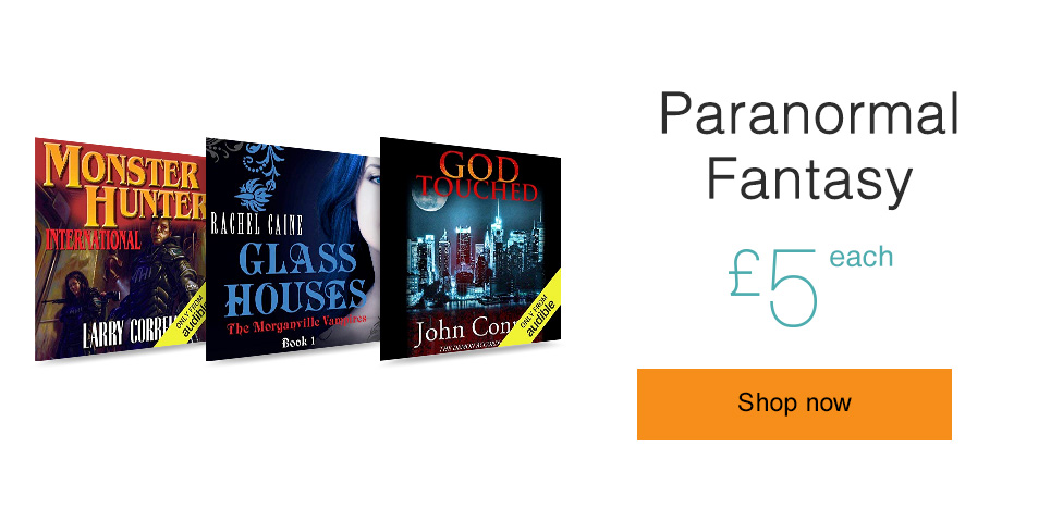 Paranormal Fantasy. Only £5 each.