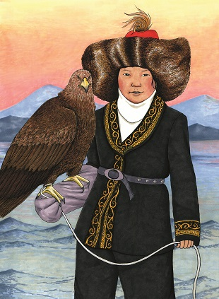 Aisholpan Nurgaiv - Aisholpan became the the first woman to enter the Golden Eagle competition in Ölgii, Mongolia.