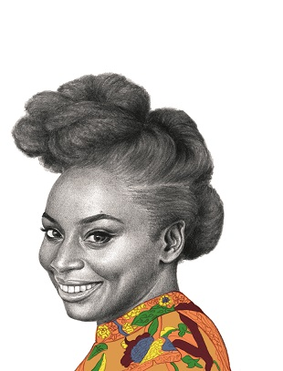 Chimamanda Ngozi Adichie - The Nigerian writer wanted to see more books with African people in them