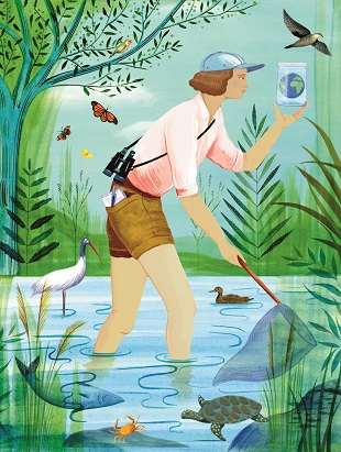 Rachel Carson - Environmentalist Rachel wrote one of the most important science books
