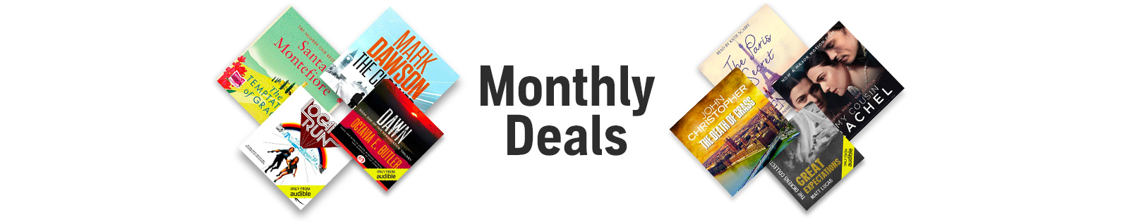 March Monthly Deals. Each for only £5. Shop now.