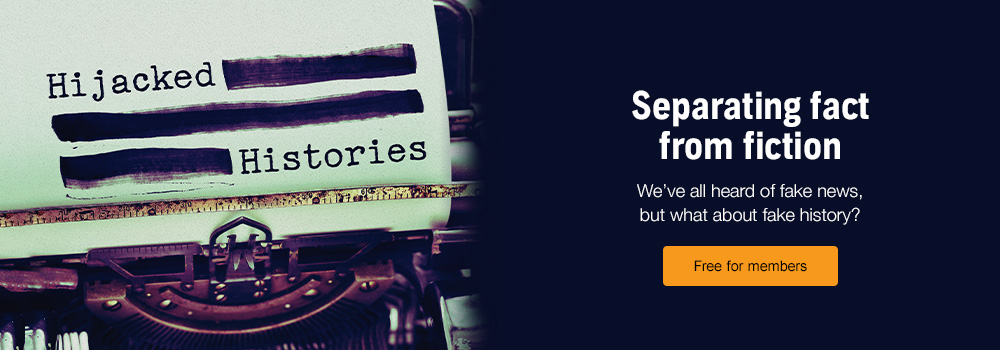 Hijacked History. Separating fact from fiction. Free for members