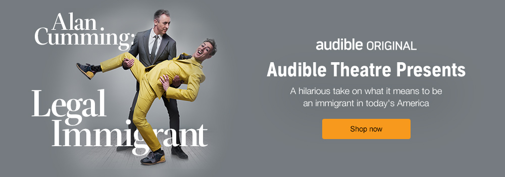 Alan Cumming: Legal Immigrant, a hilarious drama about life as an immigrant in contemporary America, written and performed by Alan Cumming