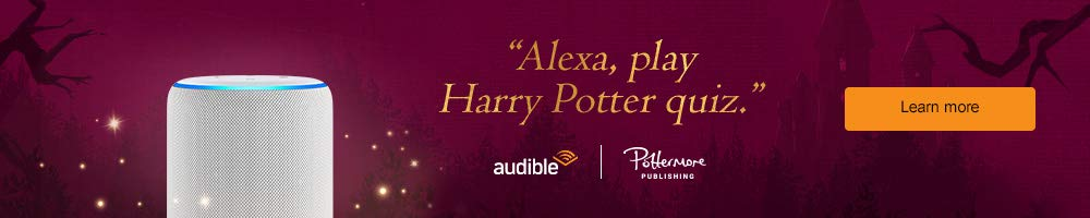 Alexa, play Harry Potter quiz. Learn more.