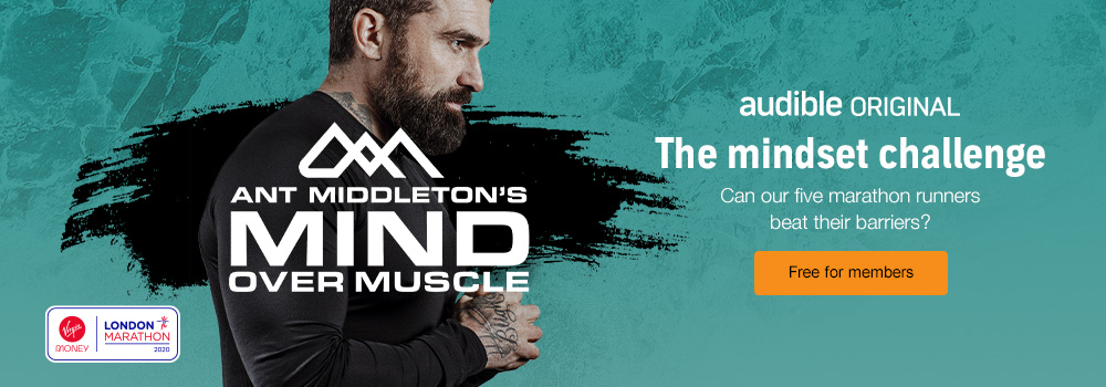 Ant Middleton's Mind Over Muscle podcast. the Mindset challenge. Can our five runners overcome their challenges Free for members.