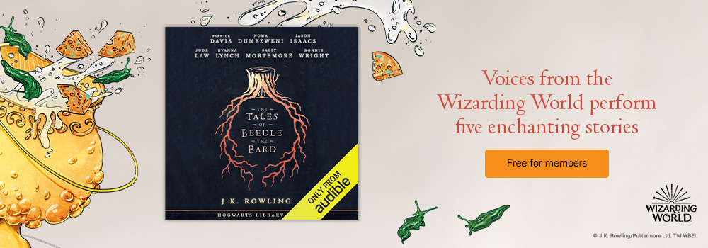 Voices from the Wizarding World perform five enchanting stories. Free for members