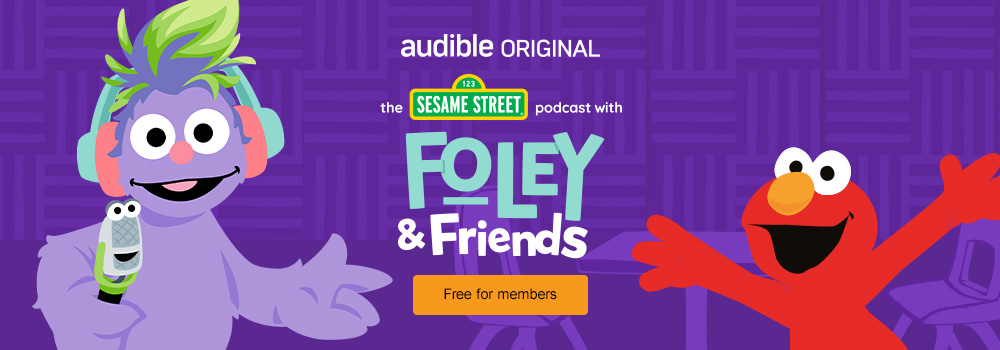 The Sesame Street Podcast with Foley and Friends. Educational entertainment the little ones will love. Free for members