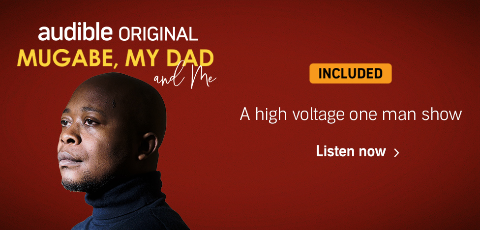 Mugabe, My Dad and Me. A high voltage one man show. Listen now.