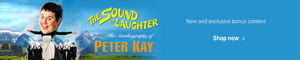 The Sound of Laughter by Peter Kay. Available 16 September. Shop now.