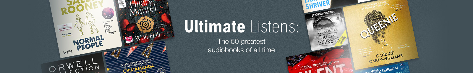 Ultimate Listens. The 50 greatest audiobooks of all time