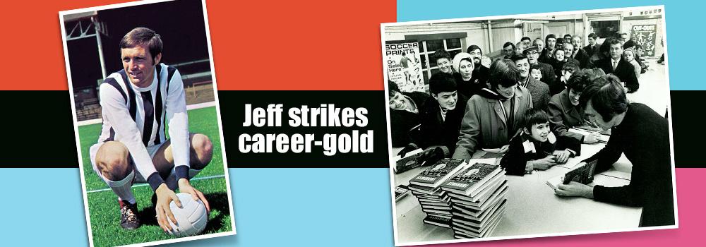 Jeff Strikes career gold
