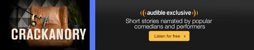 Crackanory. Short stories narrated by popular comedians and performers. Listen for free