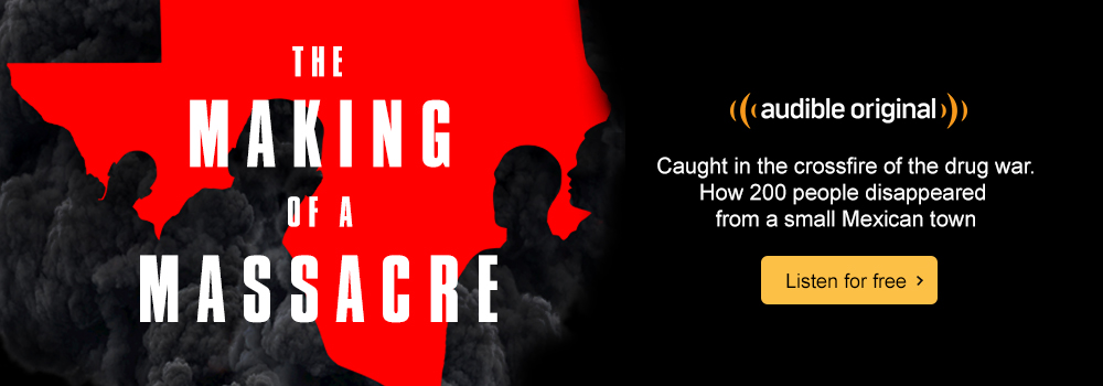 Audible Original. The Making of a Massacre. Caught in the crossfire of a drug war. Listen for free