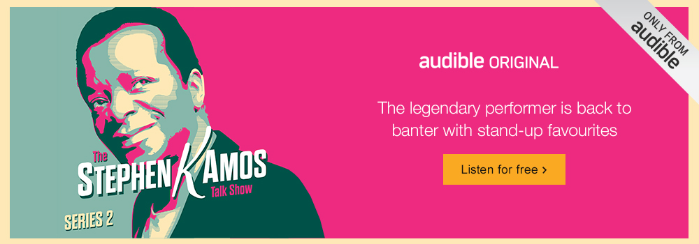 The Stephen K Amos Talk Show (Series 2). Listen for free