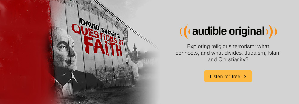 David Suchet's Question of Faith Audio Show. Exploring religious terrorism; what connects, and what divides, Judaism, Islam and Christianity? Listen for free