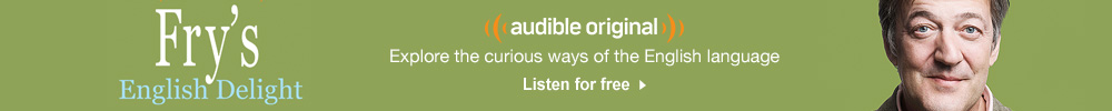 Fry's English Delight Audio Show. English language amusingly dissected. Listen for free