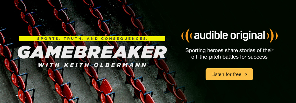 Audible Original Gamebreaker Audio Show. Sporting heroes share their stories of off-the-pitch battles for success. Listen for free.