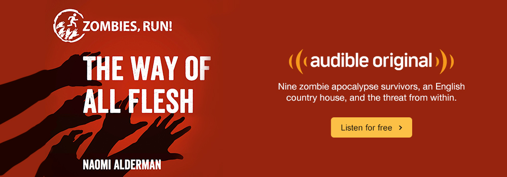 Audible Originals The Way of All Flesh Audio Show. Nine zombie apocolypse survivors, an English country house, and the threat from within. Listen for free