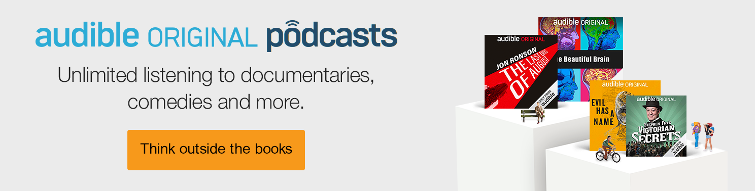 Audible Original Podcasts - Unlimited listening to documentaries, comedies and more.