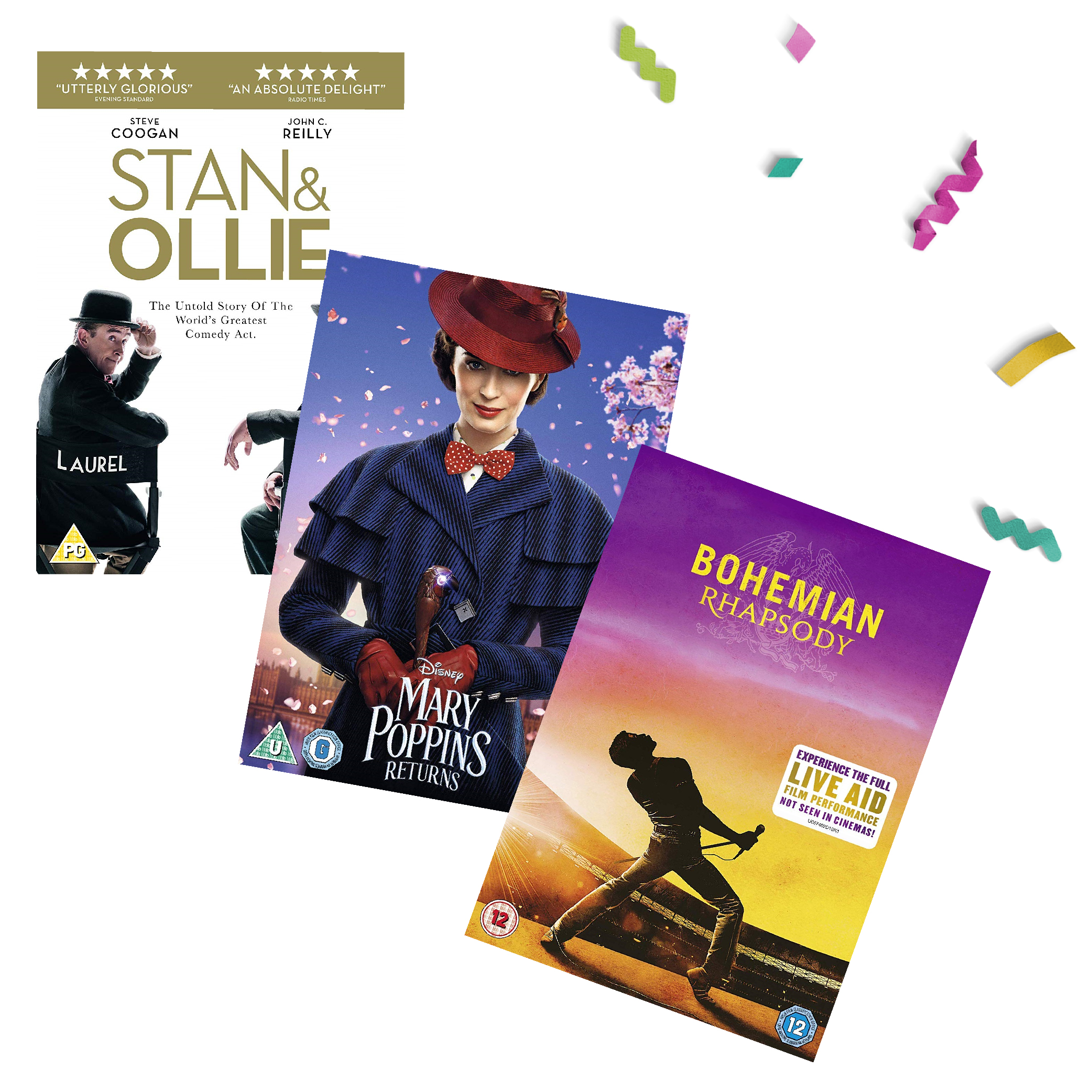 Up to 30% off new releases & more on DVD and Blu-ray