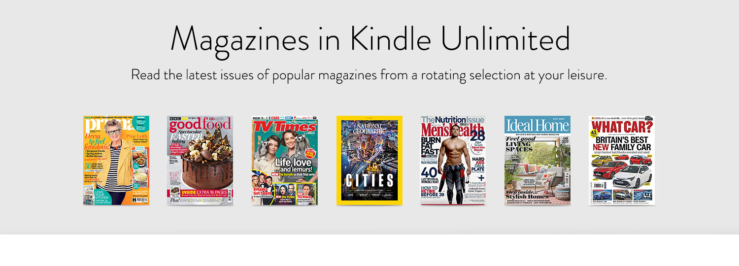 Read the latest issues of popular magazines from a rotating selection at your leisure.