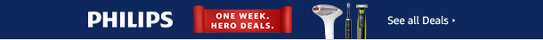 One Week. Hero Deals on Philips