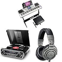 -30% en altavoces, auriculares e instrumentos musicales