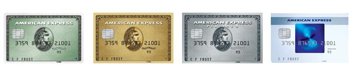 American Express UK Cards