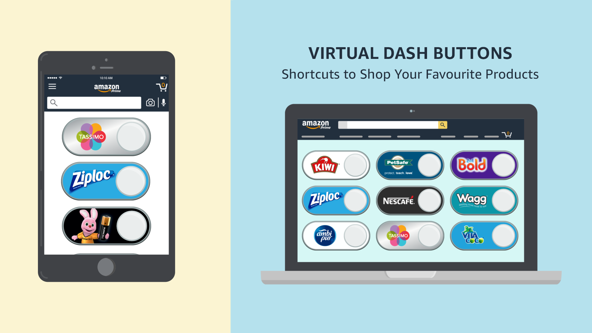 Learn more about Dash Buttons @ Amazon co uk