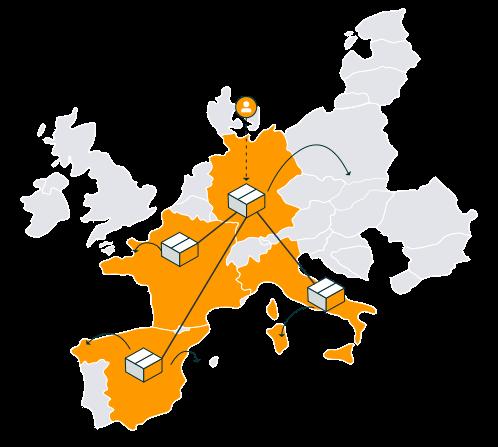 Le service Expédié par Amazon Pan-Européen