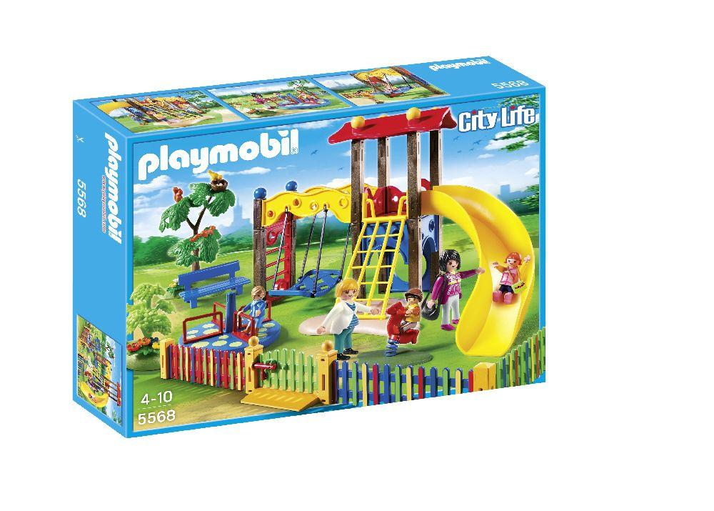 playmobil 5568 city life preschool children 39 s playground. Black Bedroom Furniture Sets. Home Design Ideas