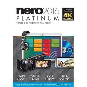 Nero 2016 Platinum (PC): Amazon.co.uk: Software