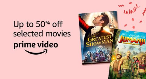 Up to 50% off great movies and TV