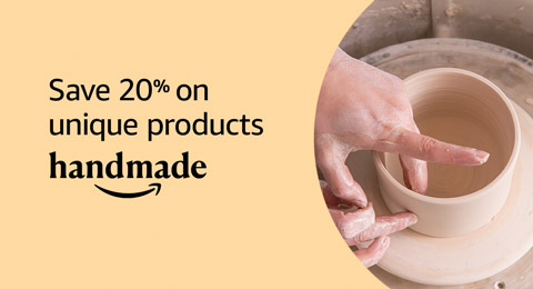 Save 20% on unique products from Handmade