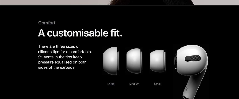 apple airpods pro enhanced product description