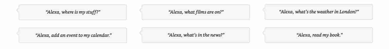 Alexa, what's in the news?