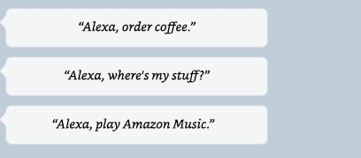 Alexa, order coffee.