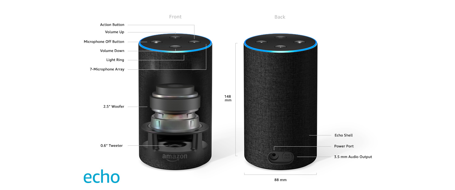 amazon alexa speaker features