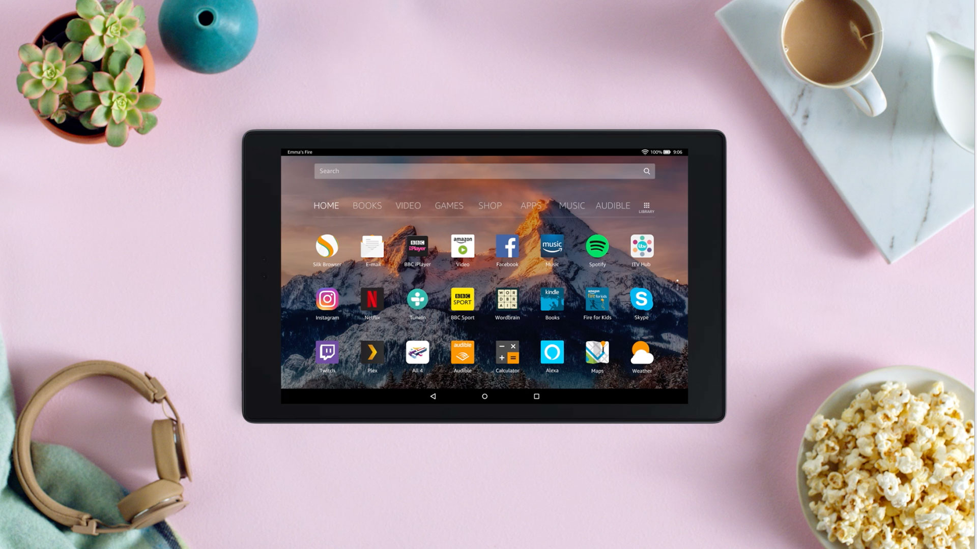 d487dc81c Fire HD 10 Tablet with Alexa hands-free and 10-inch screen