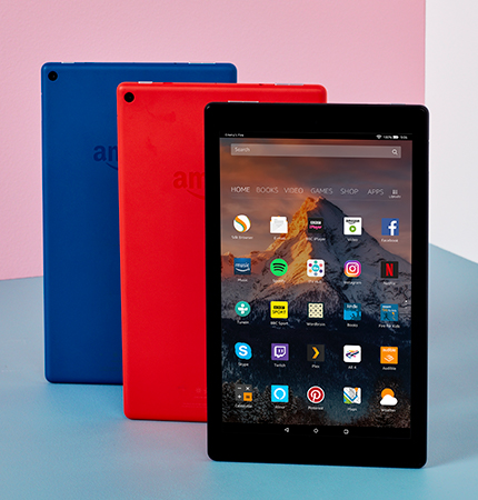 Fire HD 10 Tablet, 1080p Full HD Display, 64 GB, Black—with Special Offers