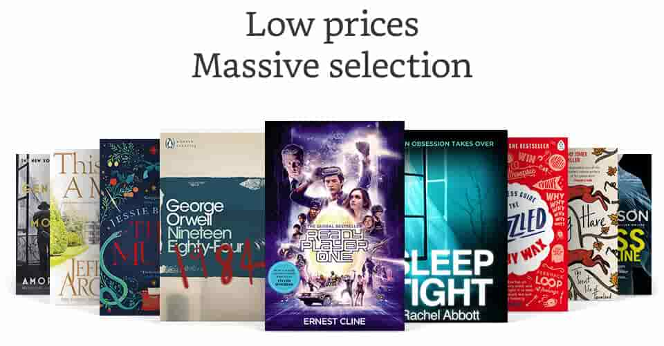 Low prices, massive selection