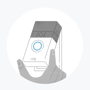 Click your Ring Video Doorbell into place. Enjoy safety and convenience.