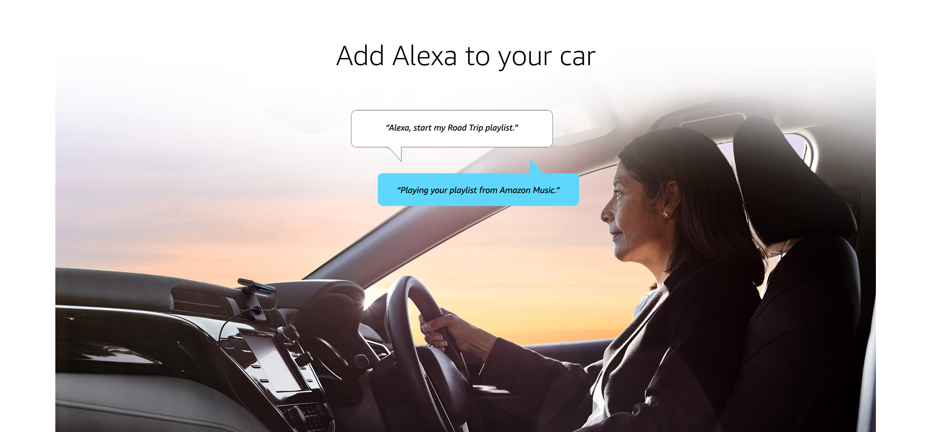 Add Alexa to your car