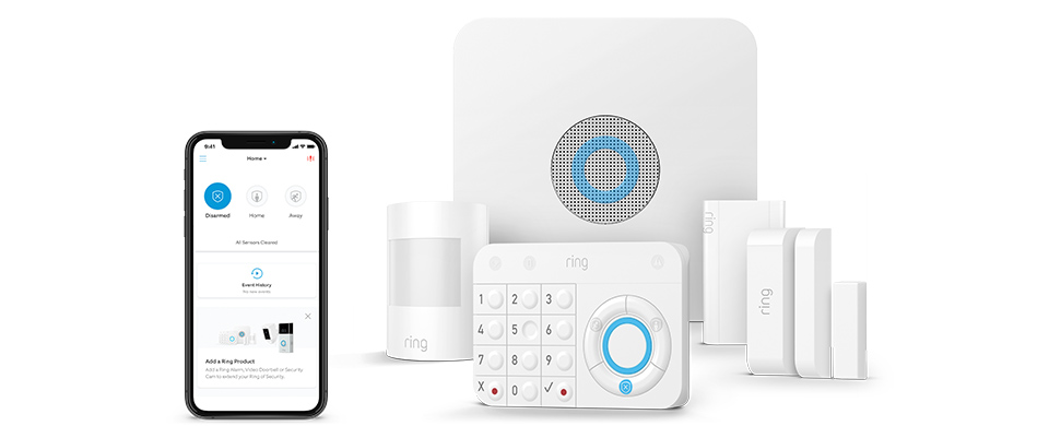 Smart security with no long term commitments
