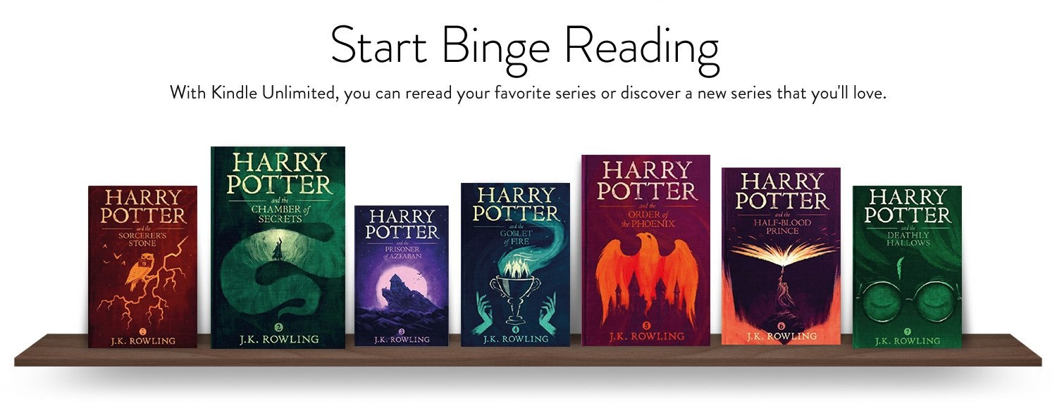 With Kindle Unlimited, you can reread your favorite series or discover a new series that you'll love.