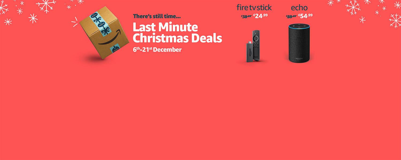 Festive deals on Amazon Devices